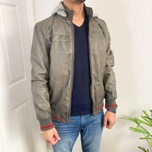 NWT Desigual Celestino Vegan Leather Jacket